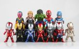 复仇者联盟钢铁侠绿巨人美国队长蜘蛛侠雷神
