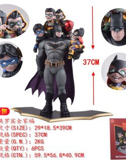 蝙蝠侠罗宾全家福