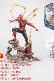 DST钢铁蜘蛛侠雕像