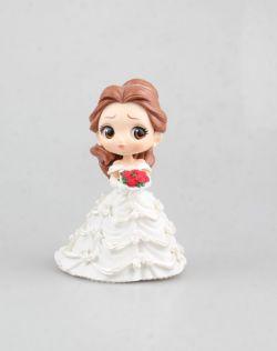 贝儿婚纱款 大眼娃娃(白色)