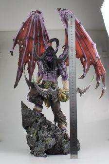 魔兽世界伊利丹限量版雕像
