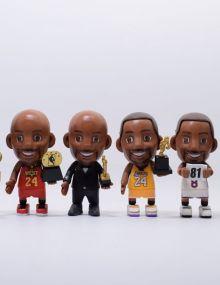 Q版6款NBA篮球明星(袋装)