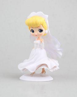 灰姑娘婚纱款 大眼娃娃(白色)